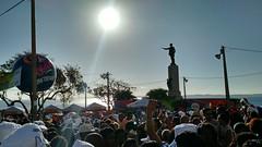Salvador - Brasil - Carnaval 2016 (cwb news) Tags: sunset brazil sol statue brasil grande do afternoon sunny desfile castro bahia campo salvador carnaval brazilian estatua filhos por alves praca brilho circuito poente concentracao ensolarado ghandy