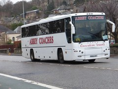 RD03 ZDT (Cammies Transport Photography) Tags: road england bus abbey scotland volvo coach edinburgh rugby profile v coaches specials corstorphine plaxton zdt rd03 rd03zdt