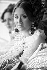 Andalusian girl (Sebastian Vela) Tags: travel portrait blackandwhite espaa girl beautiful beauty face spain eyes europe mediterranean european culture photojournalism beaut tradition andalusia espagne belleza