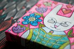 f_rabbit_2 (apolinarias) Tags: rabbit bunny art easter spring etsy
