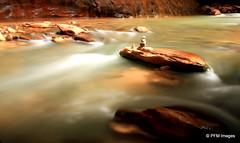 The Narrows (pandt) Tags: water canon river landscape eos rebel utah nationalpark rocks flickr outdoor hiking canyon zion dslr narrows slotcanyon virginriver 500d t1i