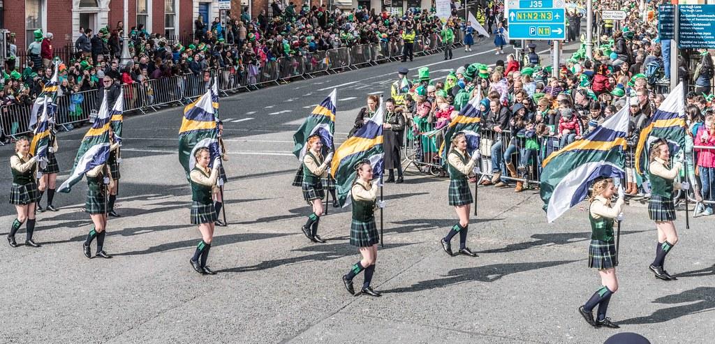 SHORECREST HIGH SCHOOL [ST. PATRICK'S PARADE IN DUBLIN 2016]-112294