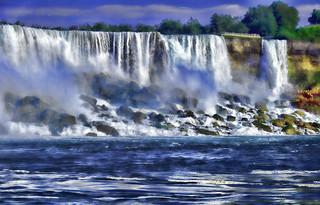 Falling waters..