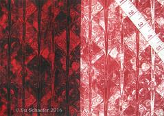 'Blood on the Dragon' + 'A Blood Red Wash': on basic cotton (Su_G) Tags: swatch dragon medieval scales reds redandwhite mantaray brocade snakeskin fishscales dragonskin animalskin sug bloodred dragonscale dragonscales spoonflower serpentskin bloodonthedragon abloodredwash
