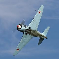 Let C-11 (Yak-11) - 9 (NickJ 1972) Tags: wings aviation wheels collection airshow shuttleworth let 52 c11 2015 yakovlev yak11 oldwarden gbtze
