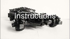 BvS Batmobile Instructionss FOR SALE (I P R I M E I) Tags: lego batman instructions custom batmobile moc ldd legodigitaldesigner dawnofjustice batfleck batmanvsuperman