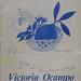 -Libro Diálogo con Borges, de Victoria Ocampo y Jorge Luis Borges, Editorial Sur, Buenos Aires, 1969. Primera edición.