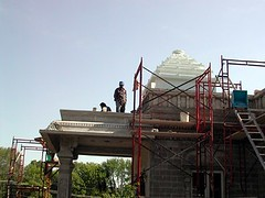 Construction of the Hindu Temple of Delaware (2002)