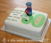 50th Birthday Golf Cake