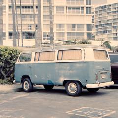 VW - Coronado (methezer) Tags: california vacation color bus film car vw analog volkswagen kodak outdoor daytime coronado rolleicord