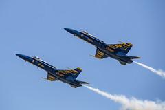 The Blue Angels (designlucasphotos) Tags: blue plane team display jet airshow angels f18 aerobatics