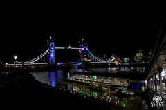 Tower Bridge by night (andrea.prave) Tags: bridge light london tower luz thames night towerbridge noche nacht lumire londres londra notte luce  tamigi          towerpier