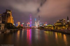 Pudong from Suzhou River (callaway_64) Tags: china nikon shanghai 20mm pudong d810