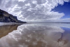 Map of the Problematique (pauldunn52) Tags: heritage wet wales clouds stairs reflections coast sand glamorgan whitmore