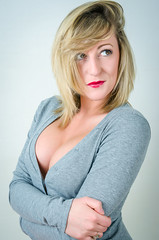 Jodie Ellen (C-Imagery) Tags: portrait sexy beauty fashion studio nikon pinup leotard purpleport jodieellen