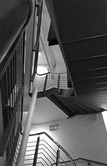 Theatre stairs 113/366 (2) (♔ Georgie R) Tags: stairs hampshire basingstoke haymarkettheatre