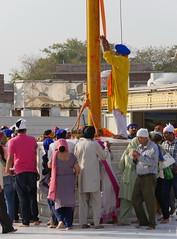 SikhTempleNewDelhi010 (tjabeljan) Tags: india temple sikh newdelhi gaarkeuken sikhtemple gurudwarabanglasahib