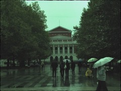 Ruse, Bulgaria (cod_gabriel) Tags: rain jones theater bulgaria ruse perga ploaie teatru pixlromatic photogramio