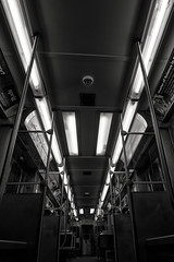 Chicago Transit Authority (Jovan Jimenez) Tags: pink blue red bw panorama brown white chicago black green public metal train canon subway eos lights cta purple angle pano authority wide line tokina ii transportation transit pro dx 1116 70d 1116mm 11mm16mm veganphotographer