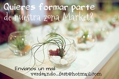 Verdeando Fest zona market contacto