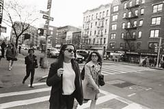 AA024 2 (heavyasmountains) Tags: nyc newyorkcity blackandwhite slr film 35mm photography nikon candid streetphotography noflash 24mm fm3a filmphotography streetstyle