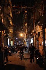 walking Johari Bazar at night (olive witch) Tags: street urban india night outdoors traffic january sodium jaipur rajasthan 2016 jan16 abeerhoque