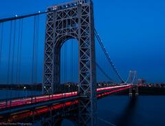 George Washington Bridge at Twilight (ravi_pardesi) Tags: nyc usa ny newyork beautiful architecture photography evening twilight outdoor dusk nj bridges serene georgewashington gwb eastcoast photooftheday tristate primeshot
