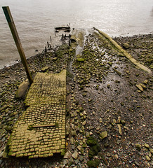 Thames Walk April 2016 (14 of 14) (johnlinford) Tags: urban london thames decay slipway thamespath canonefs1022 canoneos7d