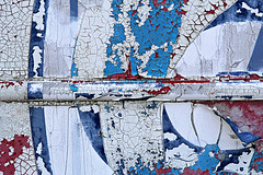 What's in a Word? (Doris Burfind) Tags: abstract truck paint decay peelingpaint