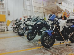 On the Ferry Motorcycle Parking (whataride247) Tags: motorcycletouring