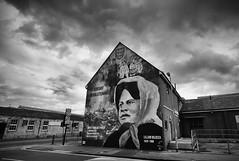 Big Lil 1 (alanhoughton777) Tags: street streetart fishing mural fuji fishermen headscarf wide wideangle hull trawler gable kingstonuponhull biglil cityofculture belfaststyle fujixt1 lillianbilocca