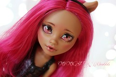 PicsArt_04-09-06.50.26 (Cleo6666) Tags: monster high wolf doll ooak custom mattel repaint howleen monsterhigh