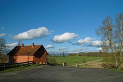 Sielski widok (jacekbia) Tags: clouds canon landscape village outdoor mazury poland polska monastery tamron chmury krajobraz wie klasztor wojnowo idyllicview
