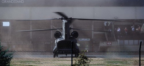 Chinook Landing at Epic