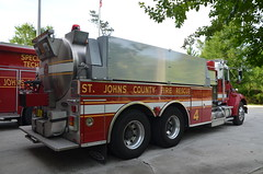 St Johns County Fire Rescue Tanker 4 (Emergency_Vehicles) Tags: county rescue st fire florida 4 johns tanker kw kenworth