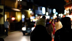 (Vincent Cheng @ Cheeseheadhkg) Tags: street japan night kyoto bokeh geisha    gion kansai crowds