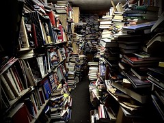 So Many Books, So Little Time (-jamesstave-) Tags: new nyc newyork shop brooklyn store floor path books literature bookstore used aisle buy covers disorder sell organization narrow shelves clutter rummage stacked piles jumble disorganization communitybookstore iphone5s