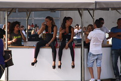 tuning promoter (themax2) Tags: auto girl highheels tuning leggings vicenza 2013