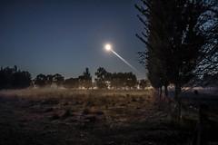 62+263: Moonlit sonata (geemuses) Tags: moon sunrise fishing scenery australia nsw flyfishing risingsun tumut tumutriver moonlt ribbonwoodcottages