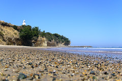 Lighthouse  (hiroshi_arai) Tags: blue lighthouse beach nature landscape seaside nikon shore    j5   nikon1