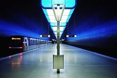 hamburg hafen city/university - blue hour (winne pu) Tags: architecture germany subway hamburg hafencity