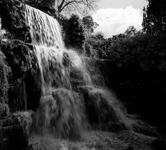 Bowood House Waterfall (Tykemeister07@yahoo.co.uk) Tags: bw gardens blackwhite waterfall timelapse bowood flowingwater bowoodhouse