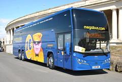 Stagecoach Megabus - 55022 - YX16 NWV (Transport Photos UK) Tags: coach vehicle blackpool nikond3000 adamnicholson transportphotosuk ukcoachrally2016