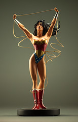 truth be told (desertdragon) Tags: statue wonderwoman adamhughes dccovergirls