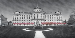 Würzburg Residence - Taken With An Old Lens (gporada) Tags: travel panorama primavera zeiss germany spring sony ngc printemps würzburg 2016 ptgui stiching 100faves frühlingserwachen springawakening carlzeisslens top20germany world100f phvalue sonyphotographing sonya7ii gporada