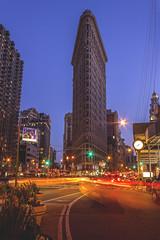 Flatiron Frenzy (shanky_v2) Tags: nyc newyork manhattan nomad bluehour flatiron