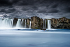 Side Of Goafoss (Marshall Ward) Tags: longexposure landscape iceland waterfalls stormyskies goafoss nikond800 afszoomnikkor2470mmf28ged marshallward
