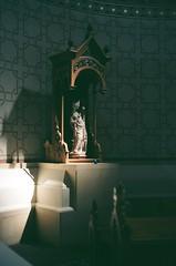000615350005 (derrickariley) Tags: color film abbey 35mm canon ae1 basilica madonna mary virgin program 100 conception ektar