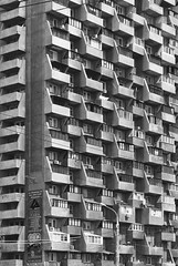 I (Ierofania) Tags: architecture concrete russia geometry socialist russian samara brutalist