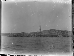 Jussarö; majakka kuvattuna mereltä n. 500 m päästä (KansallisarkistoKA) Tags: lighthouse beacon 1894 jussarö majakka